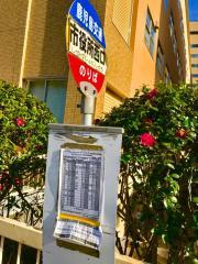 「市役所西口」バス停留所