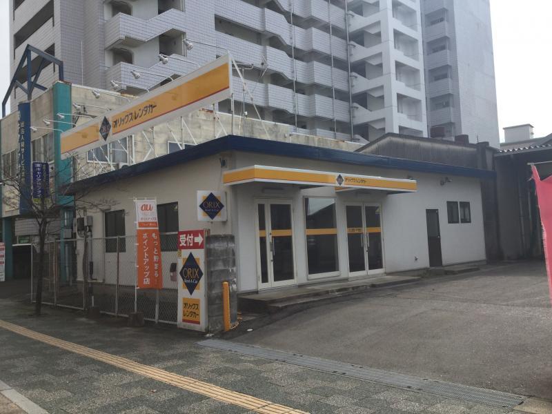 オリックスレンタカー佐賀駅前店_施設外観