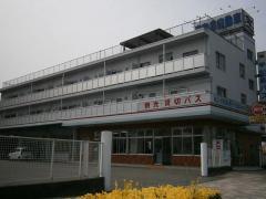 「松山営業所」バス停留所