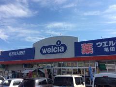 ウエルシア 亀田店_施設外観