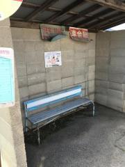 「あぶくま台団地」バス停留所