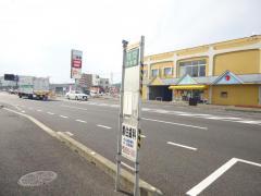 「中仙道」バス停留所