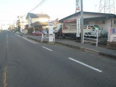 「裾花中学校前」バス停留所