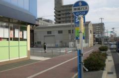 「明石警察前」バス停留所