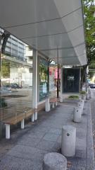 「白川通大津」バス停留所