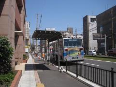 「都通り」バス停留所