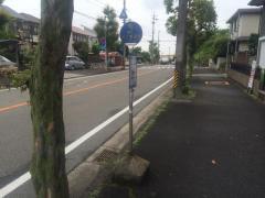 「北小前」バス停留所