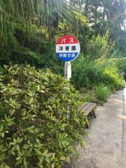 「洋香園」バス停留所