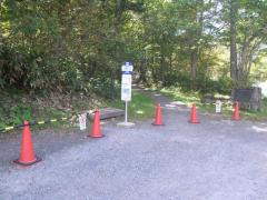 「戸隠奥社入口」バス停留所
