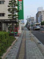 「南方交番前」バス停留所