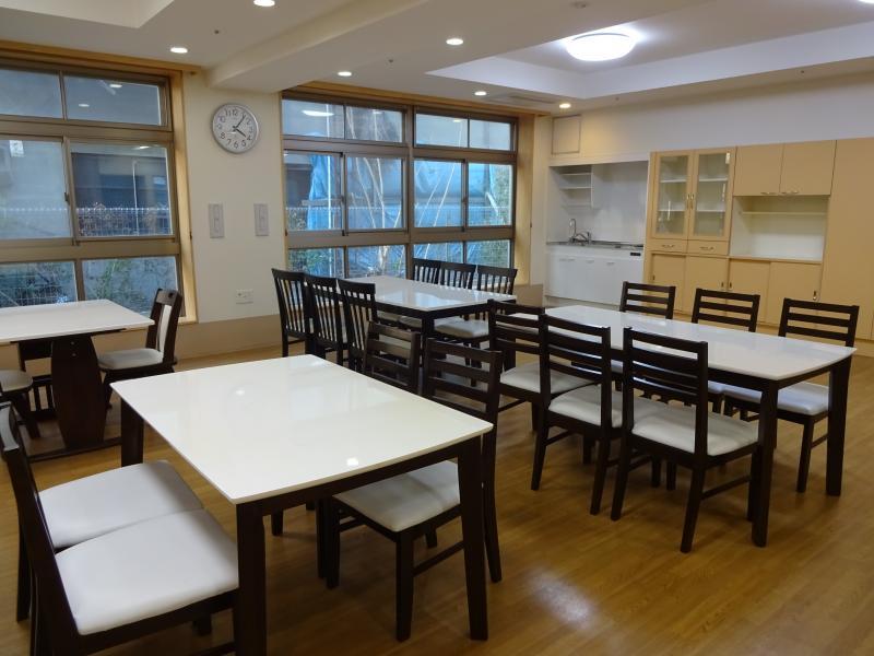 共有スペース、食堂1
