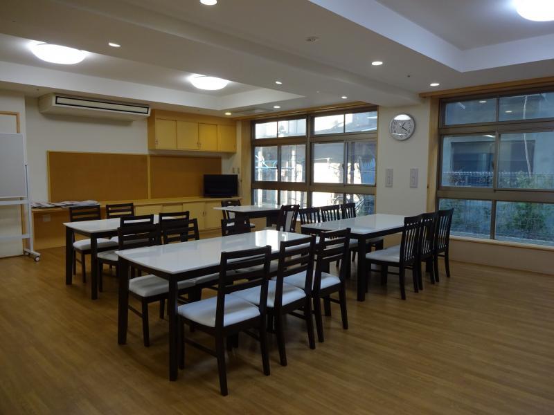 共有スペース、食堂2