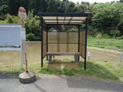 「新井橋」バス停留所