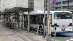 「一之江駅」バス停留所