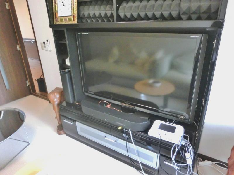 娯楽室テレビ