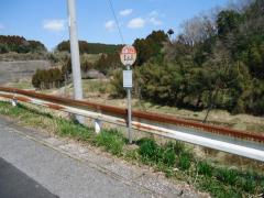 「吊橋入口」バス停留所