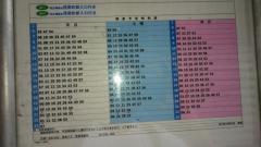 「臼田坂上」バス停留所