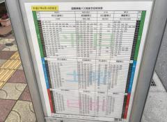 「鳩ケ谷本町二丁目」バス停留所