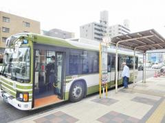 「舟入本町」バス停留所