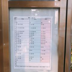 「青山一丁目駅前」バス停留所