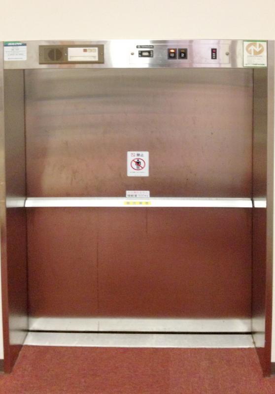 食事用エレベーター