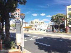 「梅の辻」バス停留所
