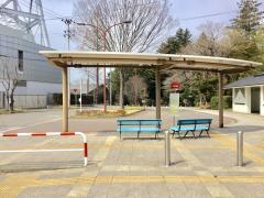 「野草園前」バス停留所