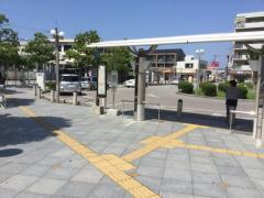 「日根野駅前」バス停留所
