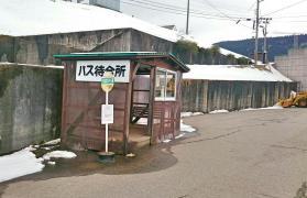 「牛岳スキー場」バス停留所