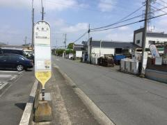 「長瀬北」バス停留所