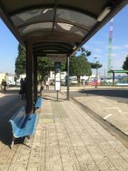 「所沢駅東口」バス停留所