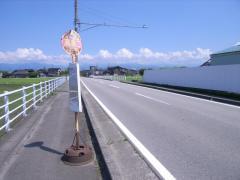 「高島口」バス停留所