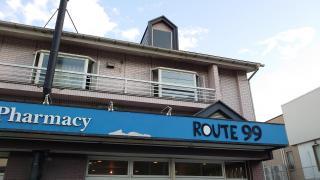 Naturalcafe・ROUTE99_施設外観