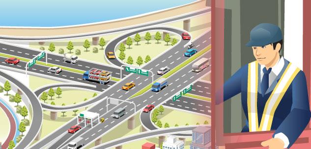 高速道路IC/SA・PAイメージ