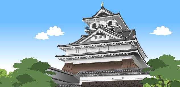 日本の城イメージ