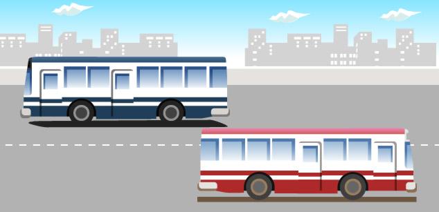バス停[バス]イメージ