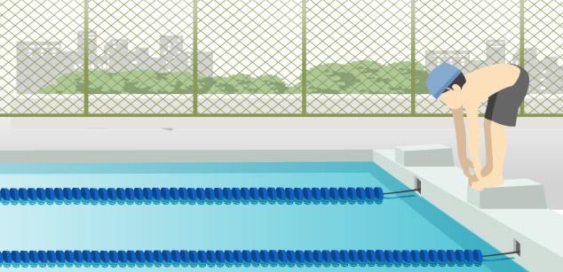 プール(水泳)イメージ