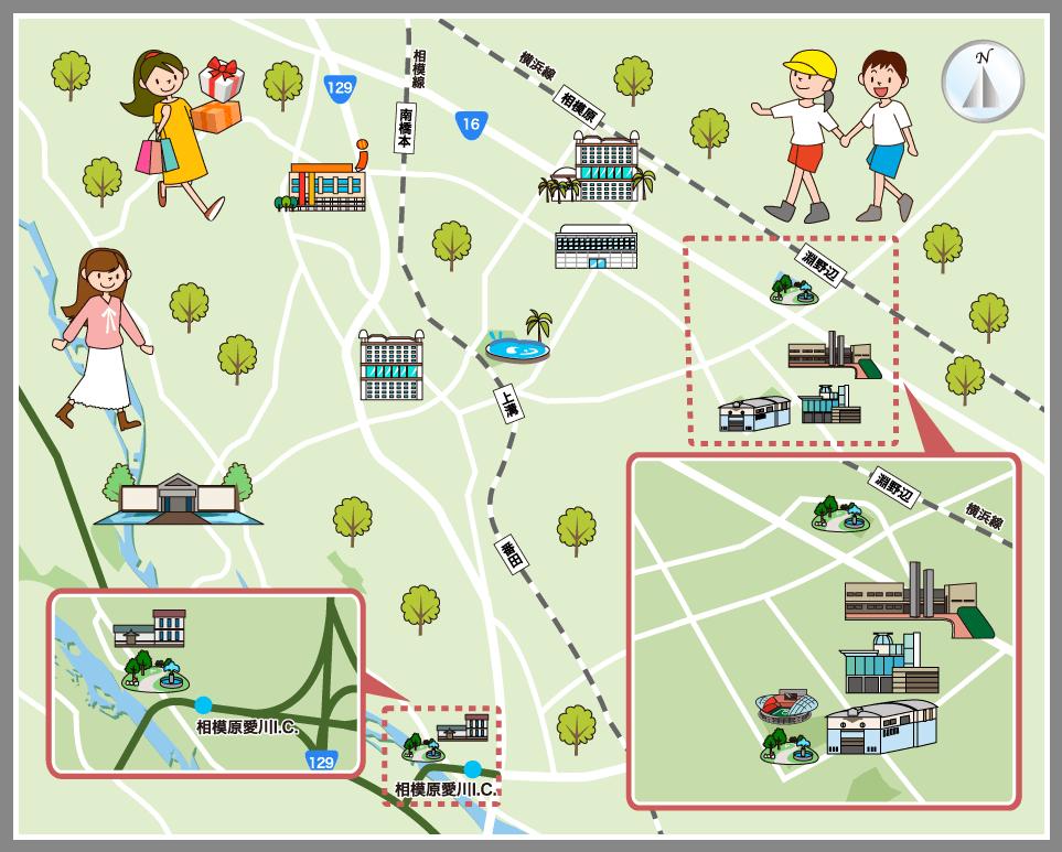 観光 マップ 横浜 横浜観光に便利なマップpdf!地図パンフレットをダウンロードしていざ横浜へ!