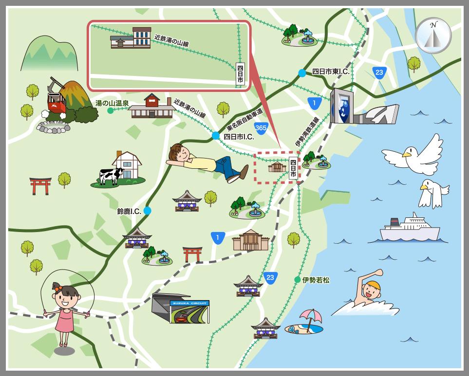 三重県鈴鹿・四日市エリア(鈴鹿...
