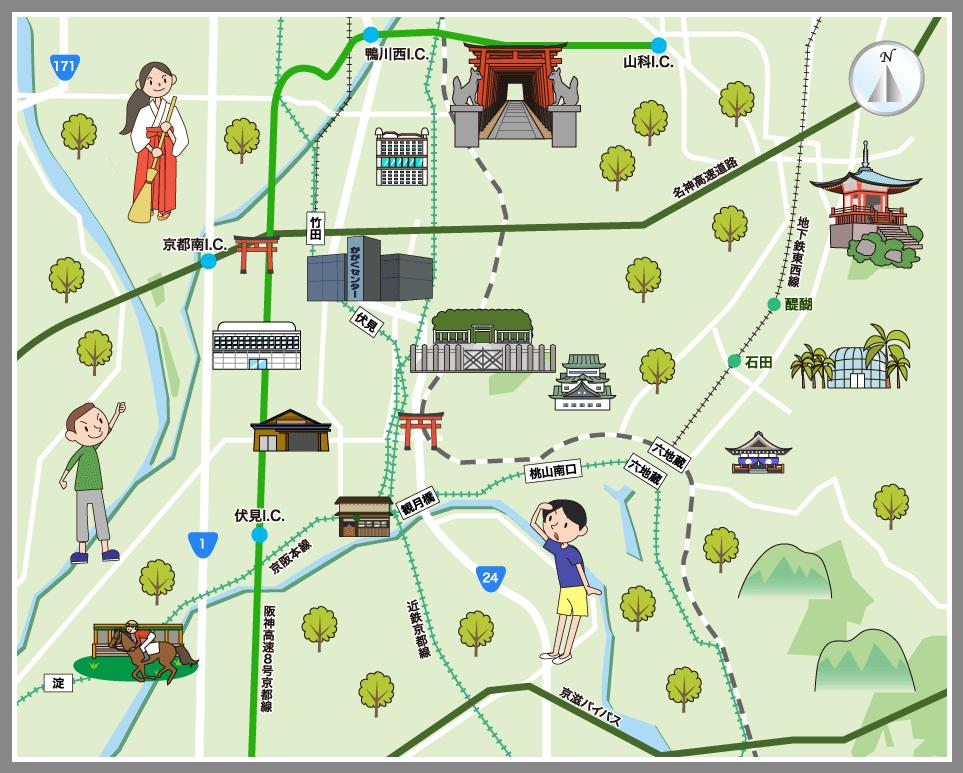 京都 観光 マップ