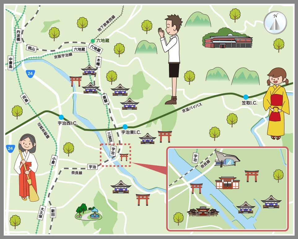 観光 マップ 京都